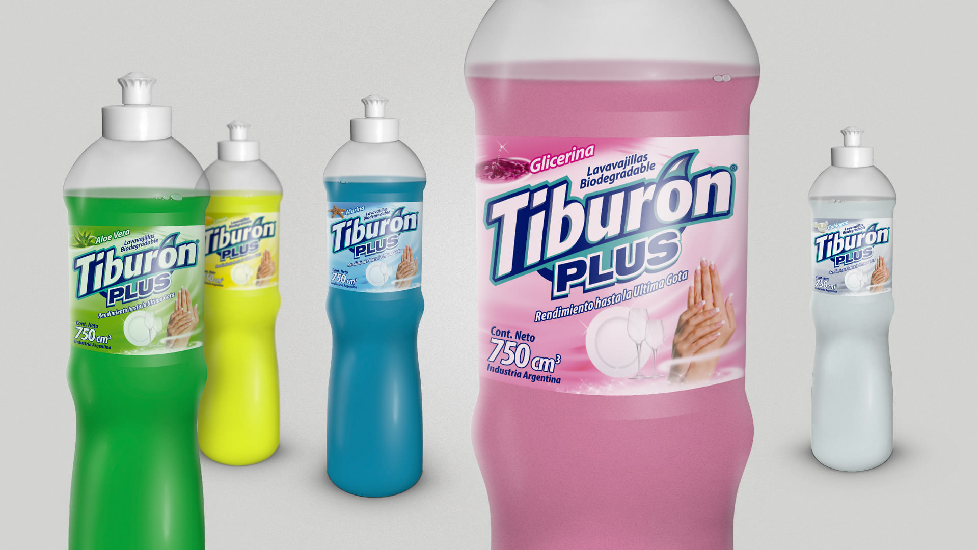 Tiburón - Packaging